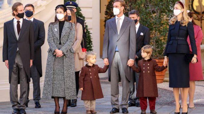 La familia real de Mónaco celebra el Día de Mónaco