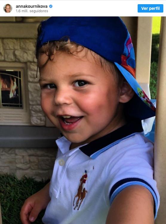Anna Kournikova compartió fotos de sus hijos junto a Enrique Iglesias