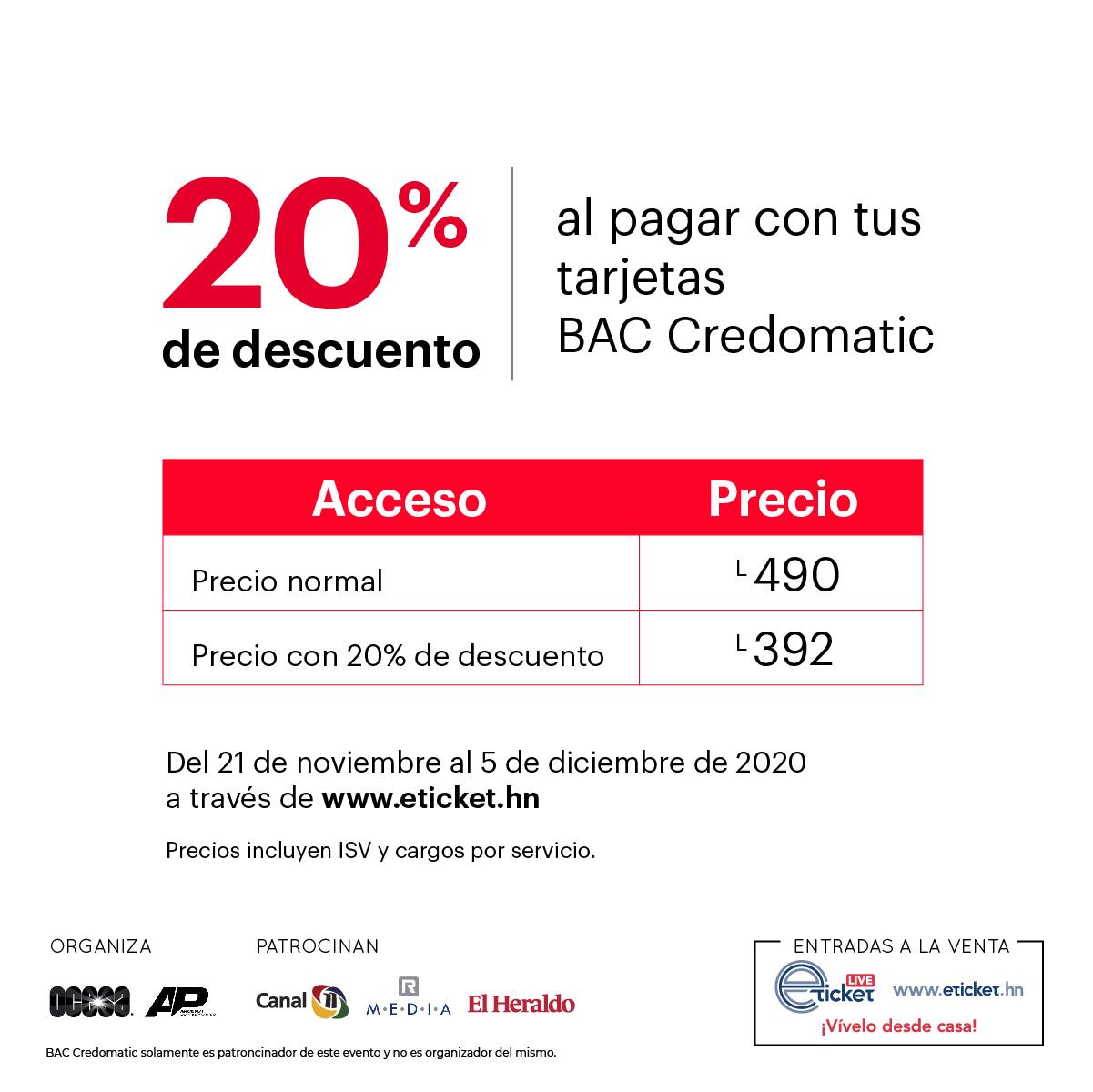 Conciertos BAC Credomatic en Línea presenta a Alejandro Sanz Live Stream