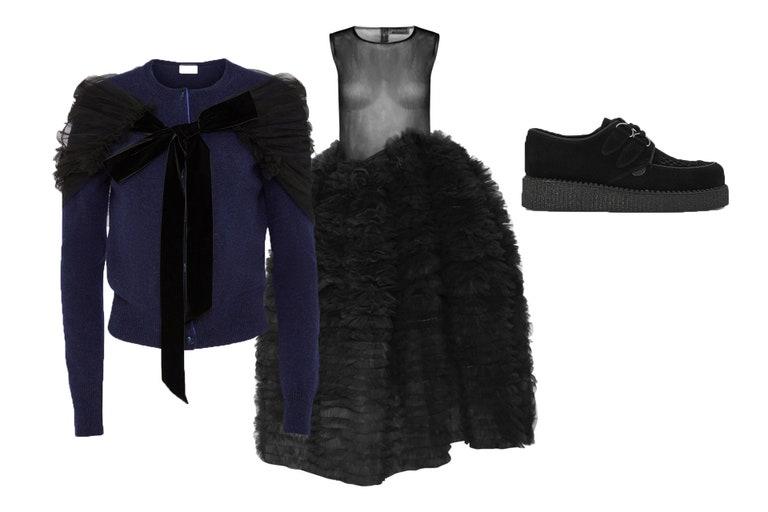 5 ideas de looks: vestidos y cardigans para deslumbrar en la fiestas de Diciembre