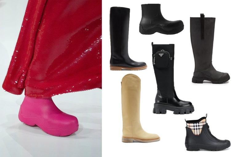 Los 5 estilos de botas más importantes de la temporada