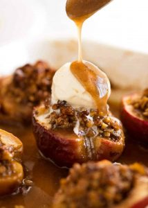 Prepara unas deliciosas manzanas horneadas