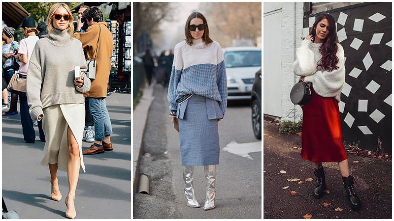 5 maneras de usar una falda midi