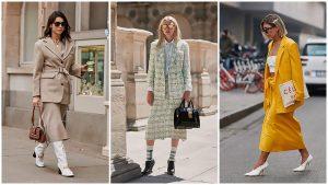4 maneras de lucir fabulosa con faldas midi