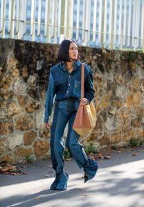 4 maneras de combinar tus jeans bicolor