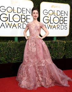 Los mejores looks de Lily Collins en la alfombra roja