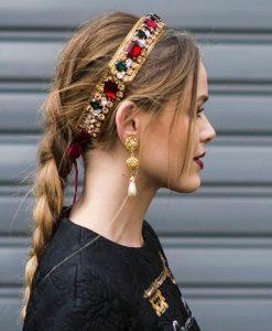 Peinados con diademas