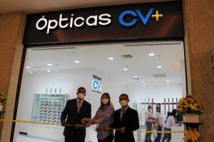 En Multiplaza: Con un concepto innovador y disruptivo Ópticas CV+ inaugura su primera sucursal