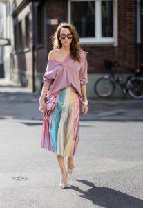 5 looks elegantes con faldas para ir al trabajo