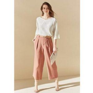 Outfits con pantalones de Lino