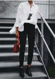Looks con camisas blancas