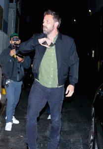 Jennifer Lopez y Ben Affleck nuevas fotos en una cena romántica