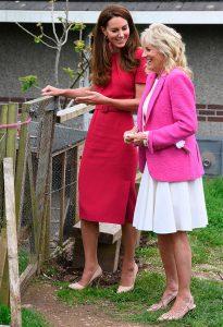 Kate Middleton y Jill Biden llenan de color su primer acto oficial