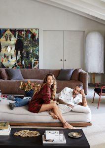La increíble casa en LA de Adam Levine y Behati Prinsloo