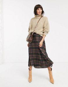 Tipos de falda en tendencia para la temporada de Otoño/Invierno 2021-2022