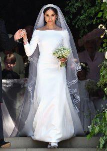 El vestido de novia de Meghan supera al de Kate como el más buscado en la última decada