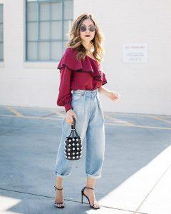 Zapatos que puedes combinar con tus mom jeans