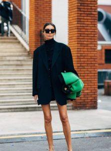 Cómo darle estilo a tus oversized blazers