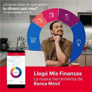 """Gestione sus finanzas personalessin salir desucasa con lanueva funcionalidad""""Mis Finanzas"""" deBAC Credomatic"""